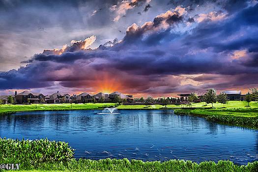 Teravista Sunrise by Gaylon Yancy