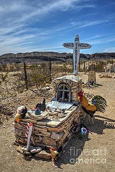 Terlingua Grave by Joe Sparks