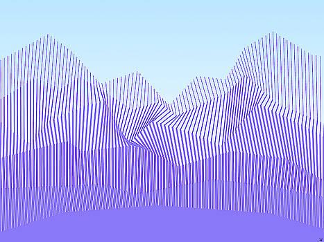 Terrain Line Art by Tin Tran