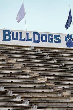 Terry Sanford Football Stadium - Home of the Bulldogs by Matt Plyler