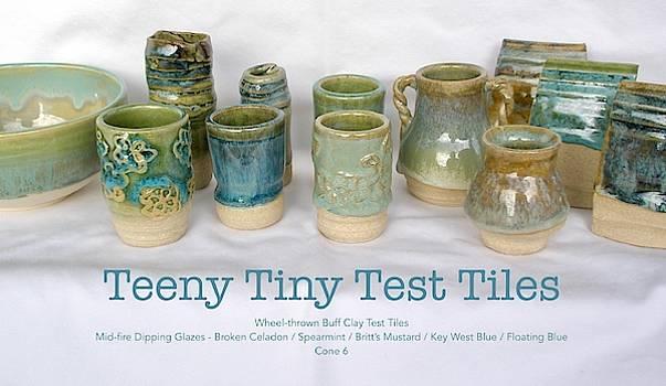 Teeny Tiny Test Tiles by Teresa Tromp