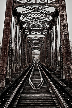Texas Trestle by Fred Hood