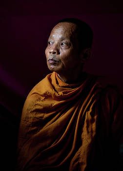 Thailand Monk by Lee Craker