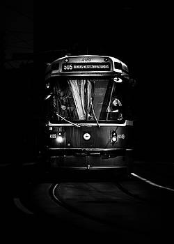 The 505 Dundas Streetcar Toronto Canada by Brian Carson