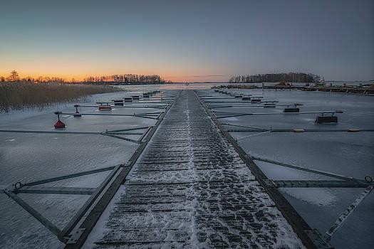 The Abandoned Marina by Ludwig Riml