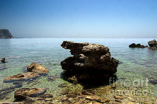 The Adriatic Sea by Mitch Shindelbower