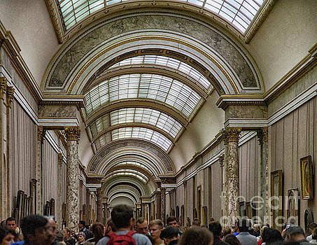 Wayne Moran - The Amazing Halls of The Louvre Museum Paris France Musee du Louvre