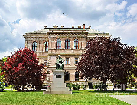 The Archaeological Museum In Zagreb, Croatia #2 by Jasna Dragun