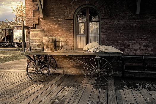 The Baggage Cart by Karen Varnas