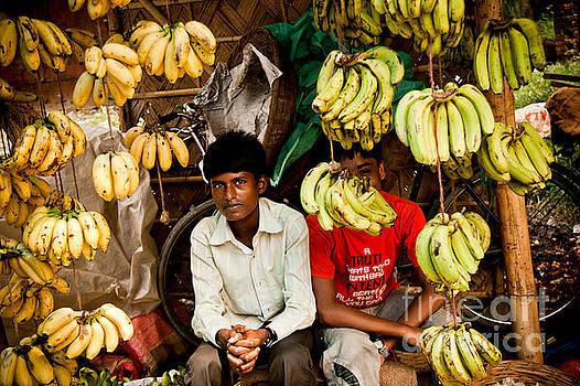 The Banana Stall by Steven Gray