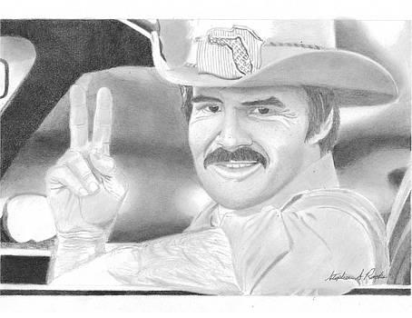 The Bandit PORTRAIT ART PRINT by Stephen Rooks