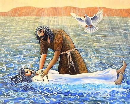 The Baptism of Christ by Caroline Street