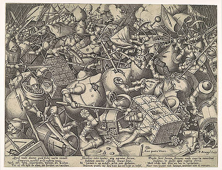 Pieter van der Heyden - The Battle about Money