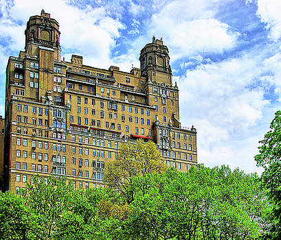 The Beresford, Central Park West, Manhattan, New York by Zal Latzkovich
