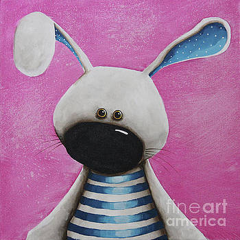 The Blue Bunny by Lucia Stewart