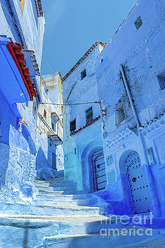 The blue city of Morocco by Louise Poggianti