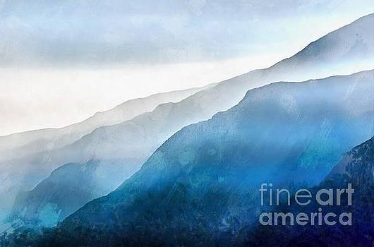 The Blue Ridge Mountain 1 Painting by Edward Fielding