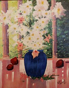 The Blue Vase by George Powell