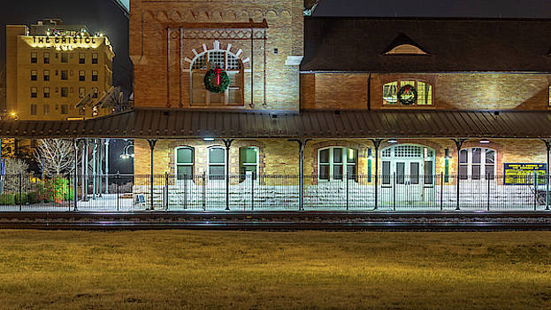 The Bristol Hotel and Bristol Train Station by Greg Booher