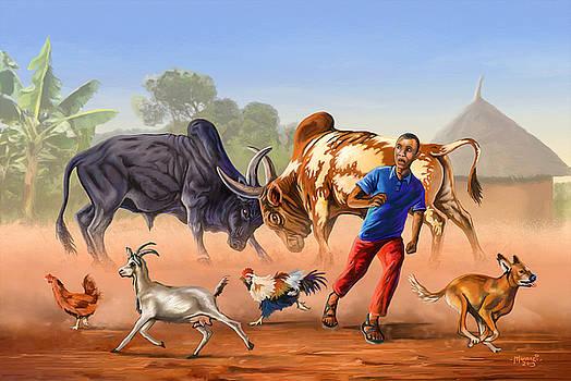 The Bulldozers by Anthony Mwangi
