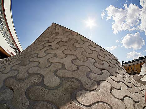 The Cap Up There. Amos Rex Art Museum views by Jouko Lehto