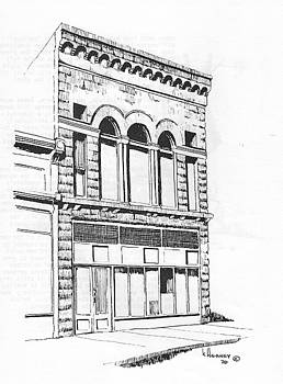 The Capital Transfer and Sands Brothers Building Helena Montana by Kevin Heaney