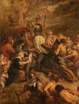 The carrying of the cross, 1634 - 1637 by Peter Paul Rubens