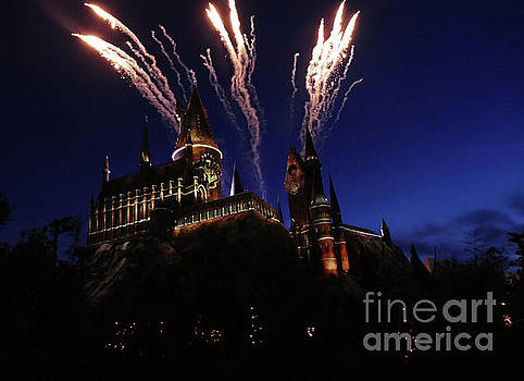 The Castle at Night by Cindy Manero