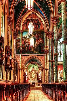 Carol Montoya - The Cathedral Of St. John The Baptist Aisle