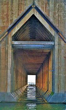 The Cathedral Ore Dock of Marquette by Tom Kelly