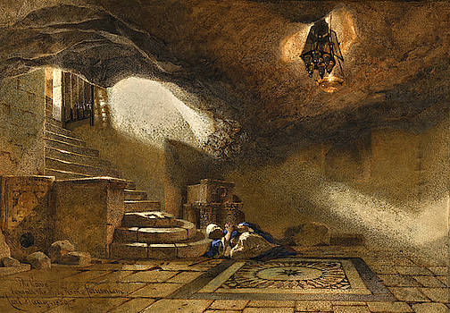 Carl Haag - The Cave beneath the Holy Rock