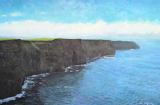 The cliffs of Moher by Rick McGroarty