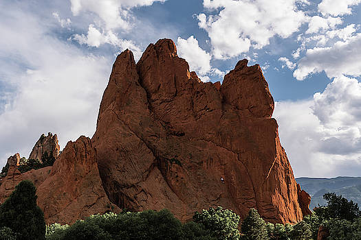 The Climbing Wall by Michael Hills
