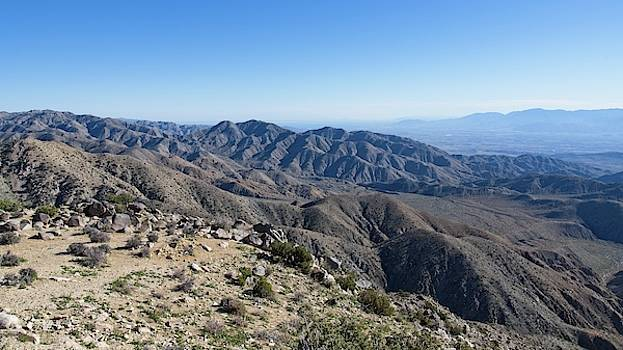 The Coachella Valley From Keyes View by Allan Van Gasbeck