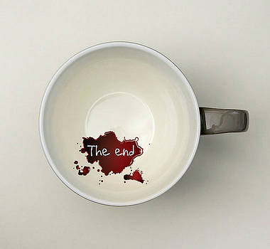 The coffee end  by Yamy Morrell