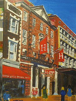 the Coop Harvard Square by Dominique Derenne