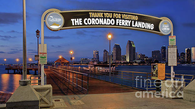 The Coronado Ferry Landing by Sam Antonio Photography