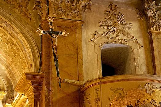 The Crucifix in Eze by Eric Tressler
