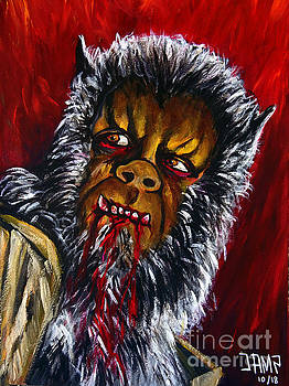 The Curse of the werewolf by Jose Mendez