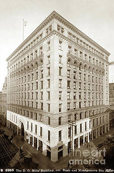 California Views Archives Mr Pat Hathaway Archives - The D.  O. Mills Building, cor. Bush and Montgomery St