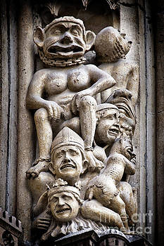 The Damned in Notre Dame de Paris by Delphimages Photo Creations