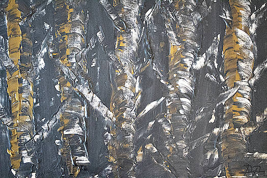 The Dark Forest by Dea Poirier