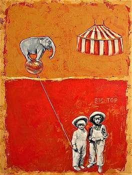 The Day We Ran Away to Join the Circus by Jean Cormier