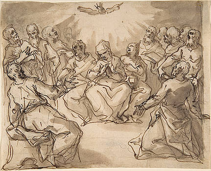 Hans Rottenhammer - The Descent of the Holy Ghost