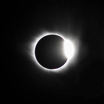 The Diamond before Totality  by Christine Buckley
