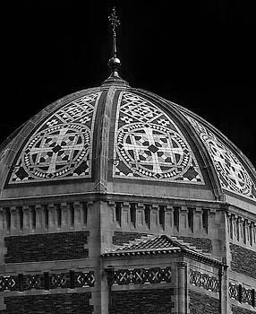 The Dome Atop Saint Bartholomews Church by Dave Mills