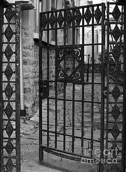 The door to the secret garden - black and white by Yavor Mihaylov