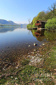The Duke of Portland boathouse on Ullswater by Dave Porter