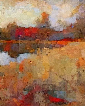 The Edge of the Pond by Don Berg