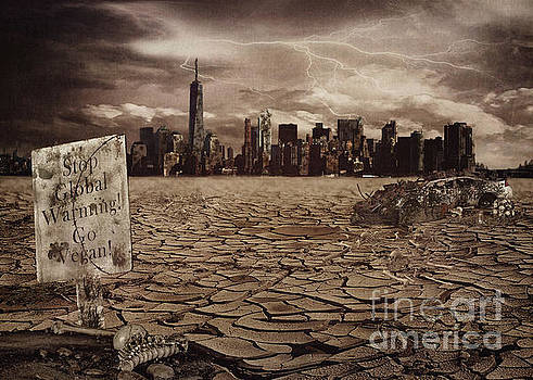 The End New York by Kelley Freel-Ebner